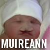 My baby Muireann