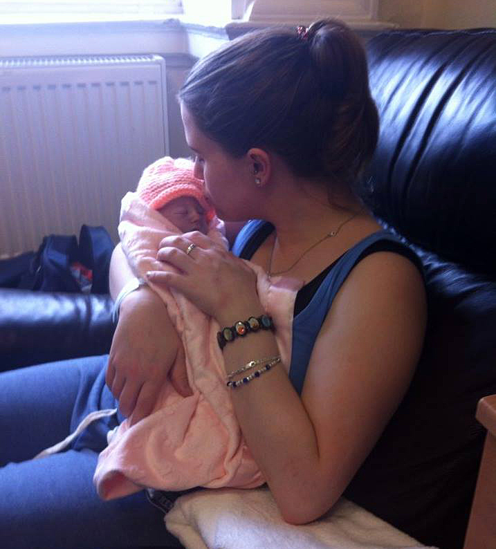 Mandy O'Neill's daughter Carragh was diagnosed in-utero with an unbalanced chromosomal translocation resulting in Trisomy 7 and Monosomy 13