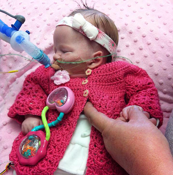 Sarah Nugents little girl Isabella had a peroxisomal disorder - a genetic, degenerative condition - and lived for 54 days