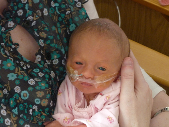 Olivia Heneghan's daughter Lily was diagnosed with Edwards Syndrome after she was born. She lived for 53 days and knew nothing but love